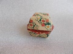 Secret cube by Ms. Ayako Kawate (Chouett'origami) Tags: origami box bote secretcube ayakokawate noa origamiboxes