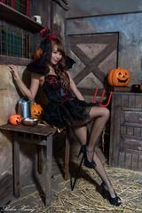 DSC_7422 (Robin Huang 35) Tags:  candy miruna   vampire  halloween  lady girl d810 nikon devil
