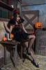 DSC_7422 (Robin Huang 35) Tags: 孫卉彤 candy miruna萬聖風 小惡魔 吸血鬼 vampire 萬聖節 halloween 棚拍 lady girl d810 nikon devil