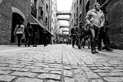 Penny Dreadful (Douguerreotype) Tags: london monochrome bridge bw blackandwhite uk british buildings street mono architecture city britain urban gb england people