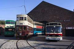Pacific Road (David Chennell - DavidC.Photography) Tags: tram trams buses bus mtps pacificroad birkenhead merseyside birkenheadtram wirral tramway