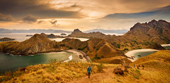 Sunset at Padar Island, Flores (syukaery) Tags: flores indonesia ntt travel landscape sunset island