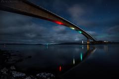 You Can't Always Get What You Want (EXPLORED) (SkyeWeasel) Tags: scotland skye skyebridge highlands bridge night kyleakin kyleoflochalsh eileanban lighthouse stars bigdipper ursamajor