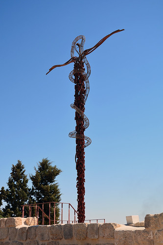 The Brazen Serpent, Mount Nebo