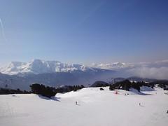 Fear of heights. (erikyoneya) Tags: chamrousse france ski snowboard winter snow landscape mountain alps