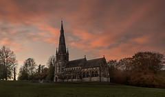St Mary's (Glenn D Reay) Tags: ripon stmarys gothic church sunset lowlight trees pentaxart pentax k30 sigma1770hsm glennreay