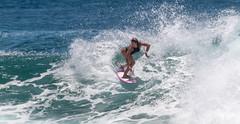 snapper rocks wednesday (rod marshall) Tags: bikinissurfingsnapper rocks snapperrocks surfing f118 f118snapperrocks female surfer