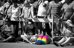 Pride Parade (gordeau) Tags: prideparade vancouver selectivecolour people parade gordon ashby gordeau