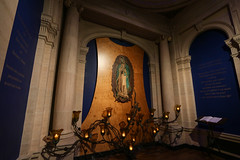 Guadalupe Chapel (Lawrence OP) Tags: guadalupe stignatiuss jesuit church sanfrancisco ourladyofguadalupe chapel votive candles