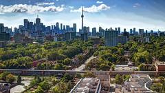 Toronto Skyline HDR (jed52400) Tags: toronto ontario canada hdr architecture cntower lakeontario city urban skyscrapers buildings adobe
