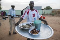 Iftar in Darfur (US Department of State) Tags: iftar ramadan idp displacedpeople youth unamid abushouk darfur islam muslims football sports elfasher northdarfur sudan
