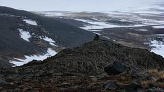Lost in volcanic wastelands (lunaryuna) Tags: iceland centralnorthiceland highlands myvatnarea volcaniclandscape wastelands lost landscape spring season seasonalchange weathermood luanryuna
