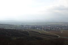 Friedenskreuz: Blick auf Dromersheim