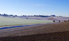 ZEIT  - TIME (gerhard.boepple) Tags: unterfranken bayern wrzburg landschaft landscape germany deutschland winter felder fields frosty zeit