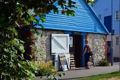 Jigsaw Shop / Weymouth (Images George Rex) Tags: uk blue england unitedkingdom britain workshop dorset weymouth dutchdoor brewersquay jigsawpuzzles hopesquare imagesgeorgerex photobygeorgerex jigsawshop dt48tr
