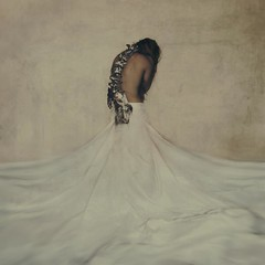 made of bones (brookeshaden) Tags: white selfportrait photography fineart bones conceptual symbolic elkspine