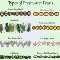 Types-of-FWP (House of Gems) Tags: star diy rice natural handmade jewelry pearls teardrop wholesale freshwater biwa