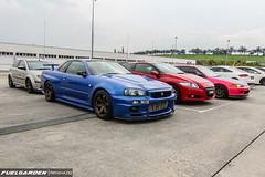 Nissan Skyline GT-R (R34), Honda CRZ, & Honda Civic (EG6) (fuelgarden) Tags: honda godzilla malaysia civic kualalumpur hybrid acura jdm gtr trackday carphotography eg6 hondacivic r34 nissanskyline sepangcircuit vtec carculture crz nissangtr automotivephotography zerotohundred timeattack hondacrz timetoattack