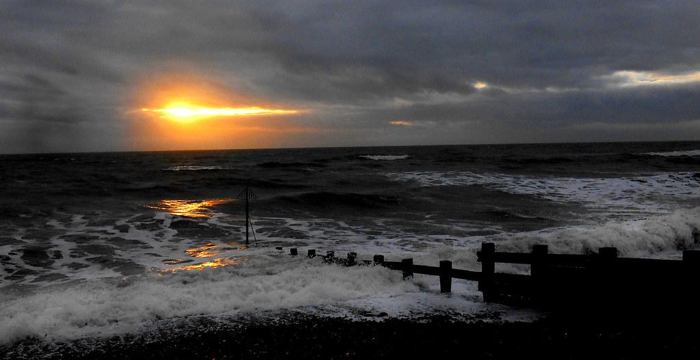 Sunset St Bees, Cumbria.