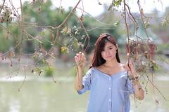 Linda205 (greenjacket888) Tags: portrait cute beautiful asian md leg linda lovely  leggy          asianbeauty   85l  85f12   beautyleg  5dmk 5d3