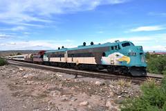 Verde Canyon Railroad (Vinny Gragg) Tags: railroad arizona cloud clouds train desert engine railway loco trains locomotive choochoo fp7 verdecanyonrailroad clarkdale verdecanyon 1512 clarkdalearizona fp7s fp71512