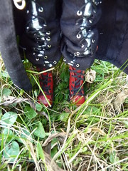 Vaangail's boots in greenery (luxymie) Tags: boots fc hash taeyang vaangail