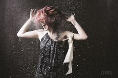 v015 (PetterZenrod) Tags: red art beauty redhead bella dust flour pelirroja surrealista harina