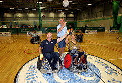 Rugby World Cup Trophy Tour - Stoke Mandeville (Steve Parsons Photography) 2