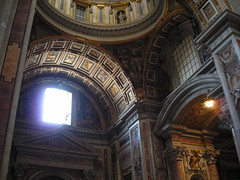 V st peters 275 (alison.fisher85) Tags: italy vatican church architecture arch stpeter 2007