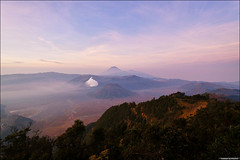 Mount Batok, Bromo & Semeru (TOMMY AU PHOTO) Tags: mountains indonesia outdoors earlymorning crater viewpoint volcanic mountbromo mountsemeru eastjava kawah bromotenggersemerunationalpark mountbatok