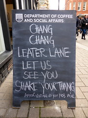 Chang chang Leather Lane let us see you shake your thang (duncan) Tags: aboard leatherlane departmentofcoffeeandsocialaffairs