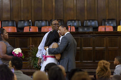 Kiss The Bride (raisinsawdust - (aka: tennphoto)) Tags: wedding man church bride husband wife weddingday firstkiss