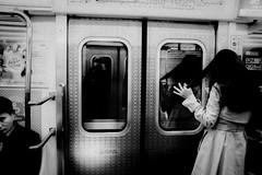 ((Jt)) Tags: blackandwhite selfportrait monochrome underground subway asian blog asia metro streetphotography korea seoul suwon travelphotography koreangirl jtinseoul fujifilmx100t