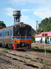 Thailand - Chiang Mai - Station chronicle update (railasia) Tags: yard thailand watertower stopsign chiangmai infra drc srt 2015 metergauge stationchronicle