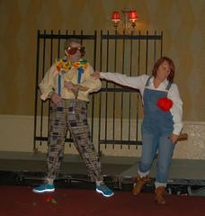 Patrick Bourke & Carmel Donaghy AKA Elton John & Kiki Dee