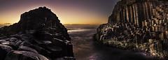 Fingal Head Sunrise (edwinemmerick) Tags: ocean longexposure sea sky panorama seascape water sunrise canon coast le slowshutter coastline edwin fingalhead emmerick