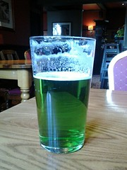 Green Beer! (Ron's travel site) Tags: uk beer pub inn surrey tavern gb guildford luckoftheirish greenbeer signofspring thestoke greenale stonehengebrewery flickrandroidapp:filter=none