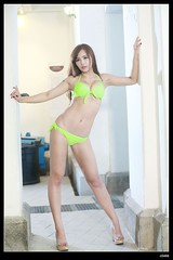 nEO_IMG_DP1U5808 (c0466art) Tags: light portrait color girl face yellow female canon pose nice eyes asia pretty looking katy legs action good gorgeous taiwan bikini figure attractive charming activity 1dx c0466art
