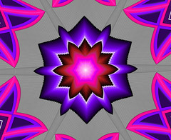 Purple 6 (crescentmoongal) Tags: abstract color purple kaleidoscopes