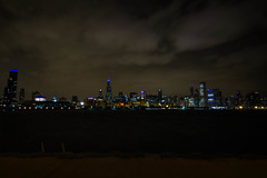 Panorámica Chicago Noche 2 (Garimba Rekords) Tags: chicago skyline noche illinois arquitectura panorámica eeuu