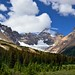 Mount Athabasca and Hilda Peak (Icefields Parkway)