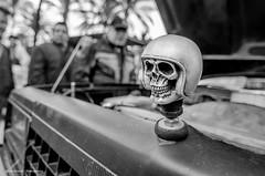 DEATH MOTORCYCLIST (Luis Alvarez Marra) Tags: street portrait bw car spain nikon outdoor candid catalonia tokina salou 1116 streetphotogaphy d7000 tokina111628