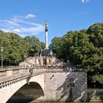 München - Luitpold-Brücke mit Friedensengel (1) thumbnail