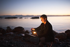 Treasure (Alex Musgrave) Tags: light sunset selfportrait landscape prime bc treasure dusk fineart victoria conceptual fx westcoast 35mmf14 10secondtimer nikond700 sigma35mmf14art