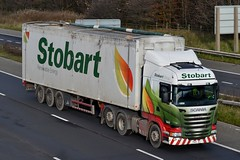 Stobart H8428 PX15 JDJ Shauna Marie A1 Washington Services 19/11/15 (CraigPatrick24) Tags: road truck washington cab transport lorry delivery vehicle a1 trailer scania logistics stobart eddiestobart shaunamarie stobartgroup walkingfloor scaniar450 washingtonservices stobartrenewableenergy px15jdj h8428