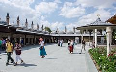 Konya - Mevlan Museum Courtyard (Le Monde1) Tags: turkey nikon islam courtyard sultan domes turkish dervish anatolia moslem whirlingdervishes sinanpasha d7000 mevlnamuseum lemonde1 hasanpasha mevlnacaddesi fatmahtun