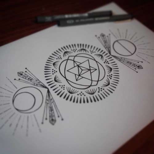 Heart chakra vibrations...working on a new design.
