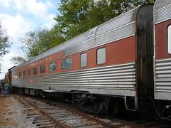 Vintage rolling stock (Jer*ry) Tags: train railroad excursion ride northalabamarailroadmuseum vintage antique preservation passengercar builtin1939 pennsylvaniarailroad coach