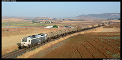 Mercancas variado en Puertollano (javier-lopez) Tags: ffcc railway train tren trenes adif renfe mercancas qumico benceno xido propileno 333 3333 prima zacs vtg zaes zas tramesa transfesa tarragonaclasificacin constant tarragonapuerto elmorell puertollano puertollanorefinera escombreras refinera petroqumica 08072016