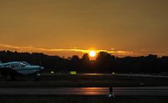 Sunset for Planes (andizurus) Tags: flugplatz senne bielefeld sunset
